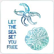 Let the Sea Stencil