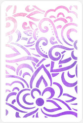 BoHo Floral Stencil