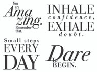 Modern Encouragements, Set of 4