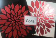 Coral Heat Transfer Foil