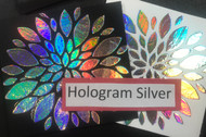 Hologram Silver Heat Transfer Foil