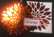 Orange Heat Transfer Foil