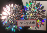 Ice Crystals Heat Transfer Foil