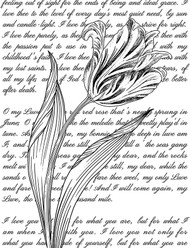 Tulip with Text