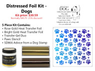 Distressed Foil Kit - Dogs
