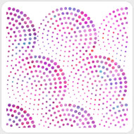 Fading Circles Stencil