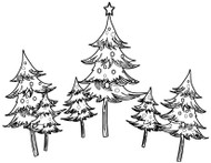 Christmas Tree Sextuplet