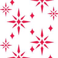 Shining Star Stencil