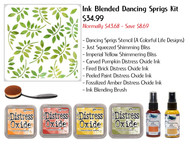 Ink Blended Dancing Sprigs Kit