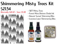 Shimmering Misty Trees Kit - Save20%