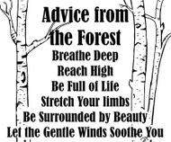 Advice from the Forest