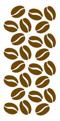 Coffee Beans Stencil