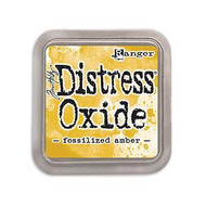 Fossilized Amber Tim Holtz Distress Oxide Ink