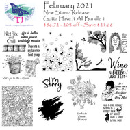 February 2021 Gotta Have it All Bundle ONE
