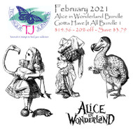 Alice in Wonderland February 2021 Gotta Have it All Bundle
