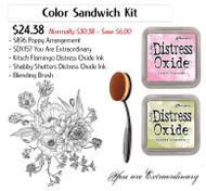 Poppy Color Sandwich Kit