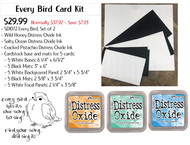 Every Bird Mini Slimline Card Kit