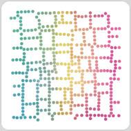 Box Dots Stencil