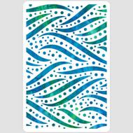 Zebra Dots Stencil
