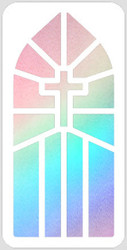 Church Window Stencil