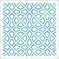 Dot Tile Stencil