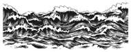 Stormy Sea Border