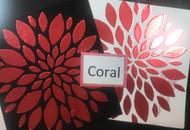 "Coral Heat Transfer Foil 6"" x 25'"