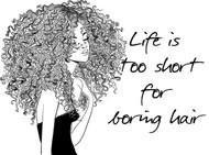 Boring Hair