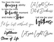 Lighthouse Sentiments, Set of 6