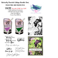 Butterfly Flourish Collage Bundle ONE