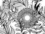 Autumn Floral Mandala