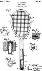 Tennis Racquet Patent