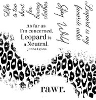Leopard Set of 6