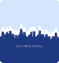 Skyline Edger 2 Stencil, Set of 2