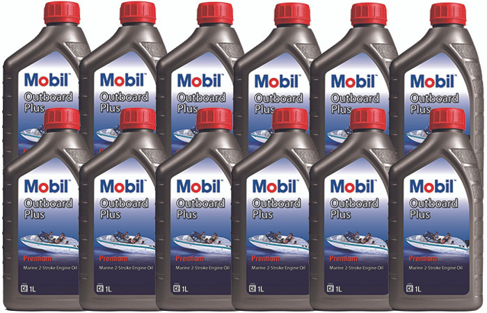 Mobil Outboard Plus 1L Carton (12 x 1L) NOTE 1: Prices include GST  NOTE 2:  All prices are in New Zealand Dollar