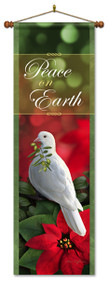 Peace on Earth Banner with Dove