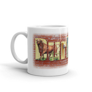 Durham Block Letters Coffee Mug
