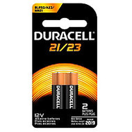 Duracell; 12-Volt Alkaline Security Batteries, 21/23, Pack Of 2