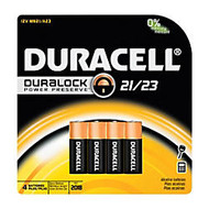 Duracell; 12-Volt Alkaline Security Batteries, 21/23, Pack Of 4
