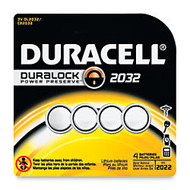 Duracell; 3-Volt Lithium Coin-Cell 2032 Batteries, Pack Of 4