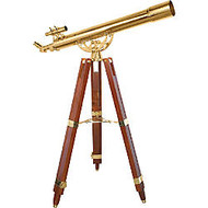 Barska Anchormaster Brass Refractor Telescope, 36 Power, 90080
