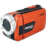 Coleman TrekHD Digital Camcorder - 3 inch; LCD - Full HD - Orange