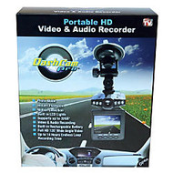 DashCam Pro™ 32GB HD Digital Automotive Dashboard Camcorder, Black