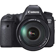 Canon EOS 6D 20.2 Megapixel Digital SLR Camera with Lens - 24 mm - 105 mm