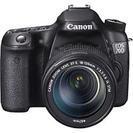 Canon EOS 70D 20.2 Megapixel Digital SLR Camera With 18 - 135mm Lens, Black