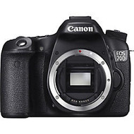 Canon EOS 70D 20.2 Megapixel Digital SLR Camera, Black