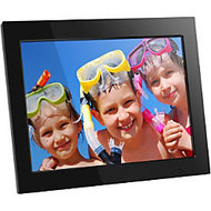 Aluratek ADMPF315F 15 inch; High-Resolution Digital Photo Frame, 14 inch; x 1.13 inch; x 12 inch;, Black
