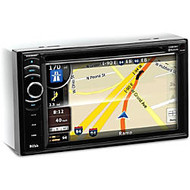 BOSS AUDIO BV9386NV Double-DIN 6.2 inch Touchscreen DVD Player, Receiver GPS Navigation, Bluetooth, Wireless Remote
