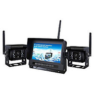 Crimestopper 2.4 GHZ Digital Dual Channel Wireless Camera and Monitor System