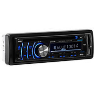 Boss Audio BV6654B Single-DIN DVD Player Receiver, Bluetooth, Detachable Front Panel, Wireless Remote